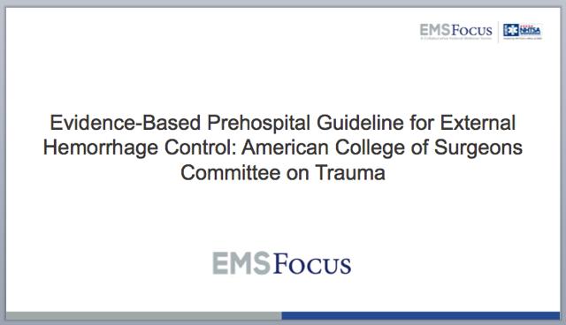EMS Focus Webinar