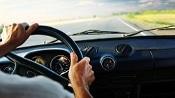car, driver, and dashboard
