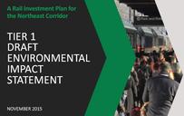 A screenshot of the NEC FUTURE Tier 1 Draft Environmental Impact Statement