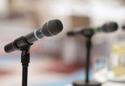 microphones.