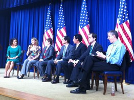 Arne Duncan with NBCTs at White House