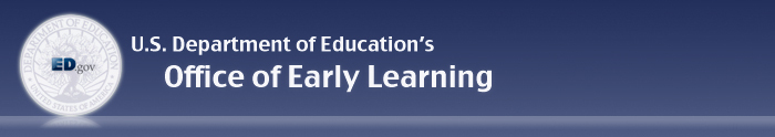 Office of Early Learning Banner