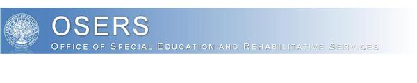 Office of Special Education and Rehabilitative Services Banner