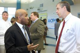 Arne Duncan at TC Williams High School
