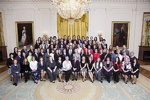 2010 PAEMST Awardees at the White House
