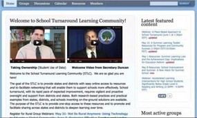 Community of Practice home page