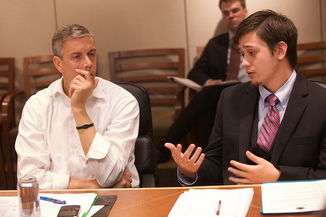 Arne Duncan meeting with National Council of Youth Leaders