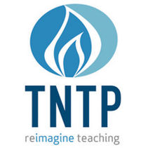 TNTP Logo: reimagine teaching