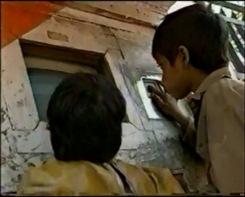 Sugata's Hole in the Wall in New Delhi, India