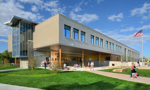 Red Hawk Elementary School in Erie, CO