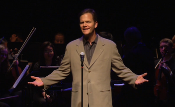 "Taylor Mali performing ""What Teachers Make"" at the Bammy Awards"