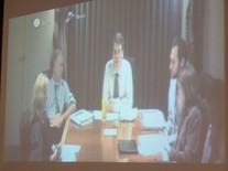 ED officials during video teleconference