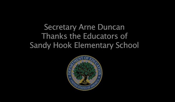 message for Sandy Hook Elementary School