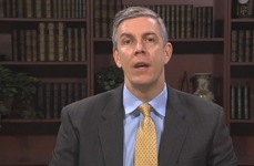 Arne Duncan talks about ag education.