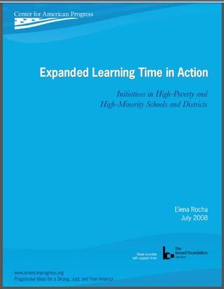 ELT: Expanding and Enriching Learning Time for All