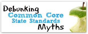 Debunking Common Core Myths logo