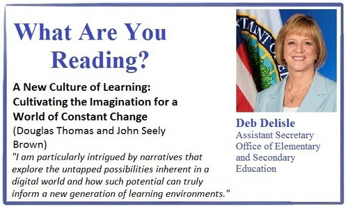 What are you reading, Deb Delisle?