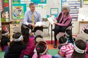 Duncan and Sebelius Read Across America
