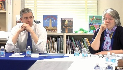Teacher and Arne Duncan