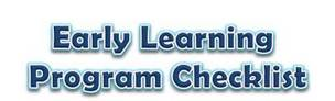 Early Learning Quality Program Checklist