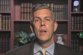 Clip of Arne Duncan talking about Native Amercians and English language learners