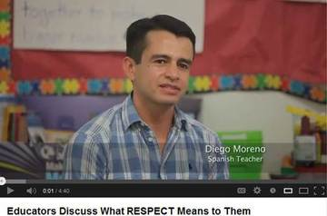 Diego Moreno and other teachers talk about RESPECT