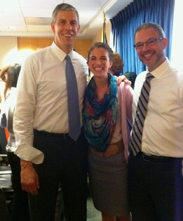 Arne Duncan with Jonathan Schore and Lauren Horn