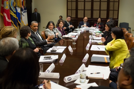 President Obama and AAPI Leaders