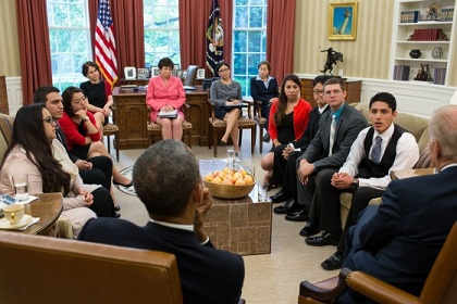 President Obama and DREAMers