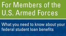 US Armed Forces - Student Loan Brochure