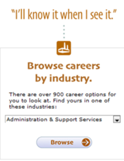 Search for careers that may interest you!
