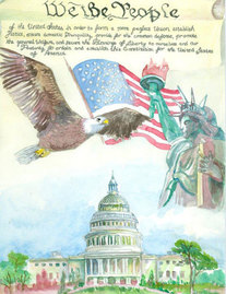 Constitution Day Poster Contest 2012 Winner
