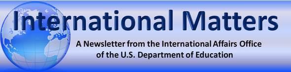 international affairs newsletter header