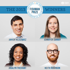 faces of four fishman prize winners