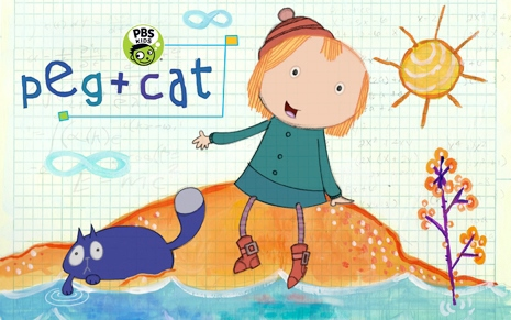 art from Peg and Cat