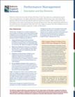 Performance Management Description and Key Elements