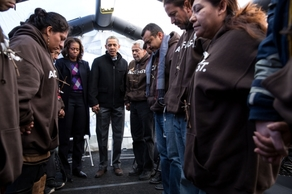 President Obama and immigration reformers