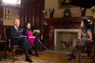 Vice President Biden and Ceclia Munoz