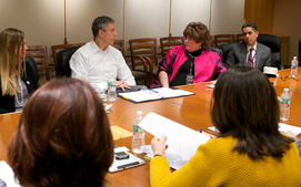 Meeting with Arne Duncan and Teaching Ambassador Fellows