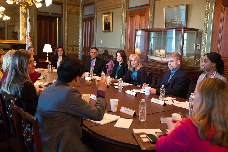TAFs meet with Dr. Biden