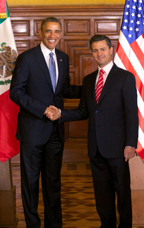 President Obama's official visit to Mexico
