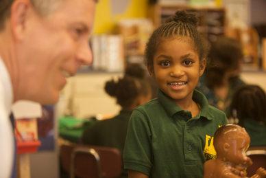 Delaware school visit