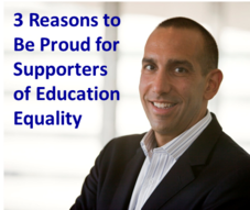 3 Reasons to be Proud for Supporters of Education Equality