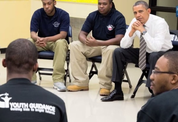 My Brother's Keeper discussion with students and President Obama