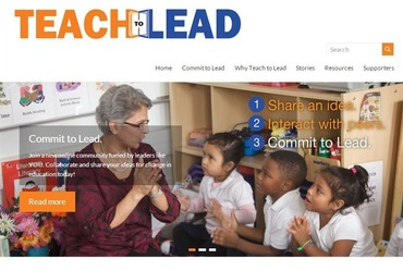 Teach to Lead home page