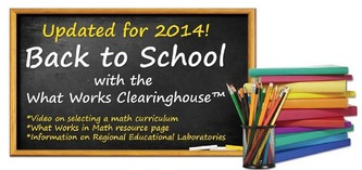 What Works Clearinghouse homepage