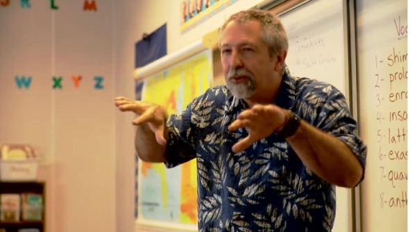 Video clip from Why Tim Bailey Teaches