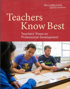 cover of report, TEACHERS KNOW BEST