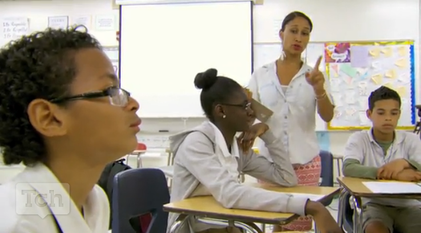 still from Teaching Channel video