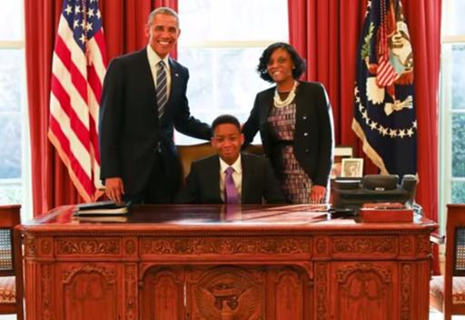 Principal Lopez honored by POTUS